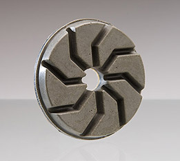 Abrasive Resinoid Ø 100 mm with velcro or quick coupling